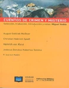 Cuentos de crimen y misterio